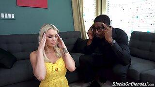 Black guy gets his way with good-looking darling Kenzie Taylor