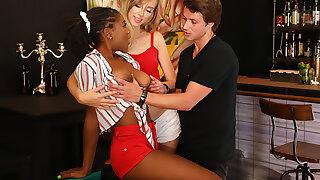 Cum-Swap Cuties: Haley Watered down & Hazel Grace