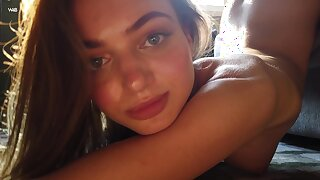 Cute live-in lover Sophy is such a tease and she loves flashing will not hear of teen tits outdoors