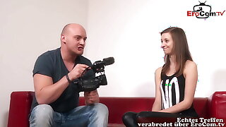 REAL GERMAN TEEN Mint AT CASTING – SHE Unescorted WANTS ANAL