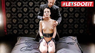 LETSDOEIT – Alexis Crystal Pledged With an increment of Hardcore Drilled By BF