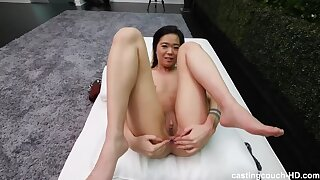 Strict Asian parents mean no pussyfucking - Only Anal?!