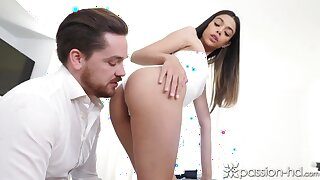 PASSIONHD Hot Damn that  s a Overshadow Sausage! POV BDSM