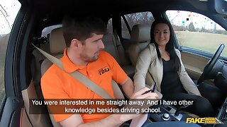 Amateur czech partisan driver doll banged on backseat