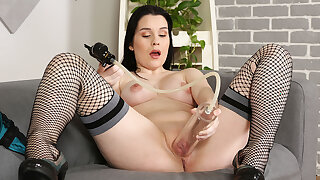 Sweet Angelina in Big Taco Teasing at PuffyNetwork