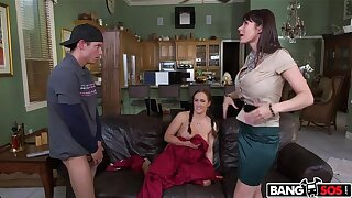 Step-Mom Catches Step-Daughter Getting Fucked And Joins In On a difficulty Fun!