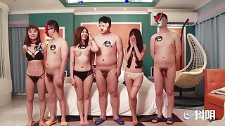 Nipponese amateur spinners crazy sex simulate video
